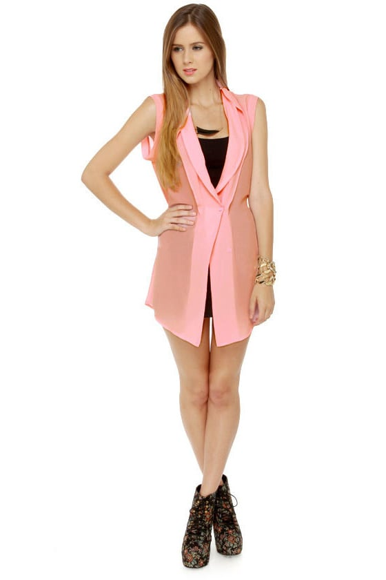 Rose Knows Pink Tunic Top at Lulus.com!