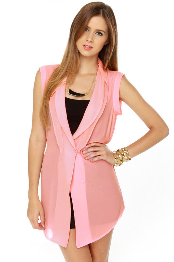 Rose Knows Pink Tunic Top