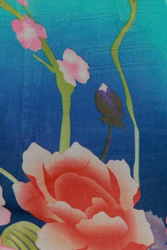 Caipirinha Floral Print Cape Top