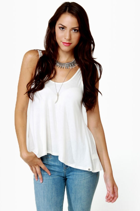 Obey Heartbreaker Ivory Tank Top