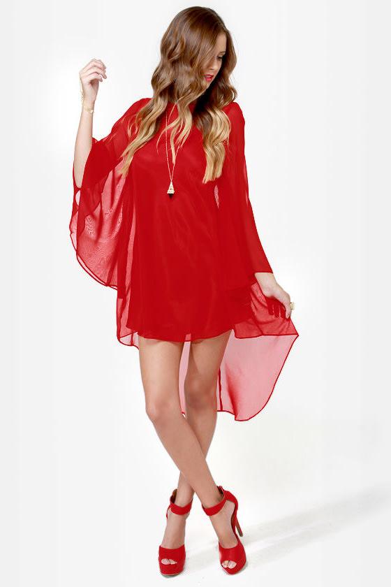 Carolina Colors Red Dress