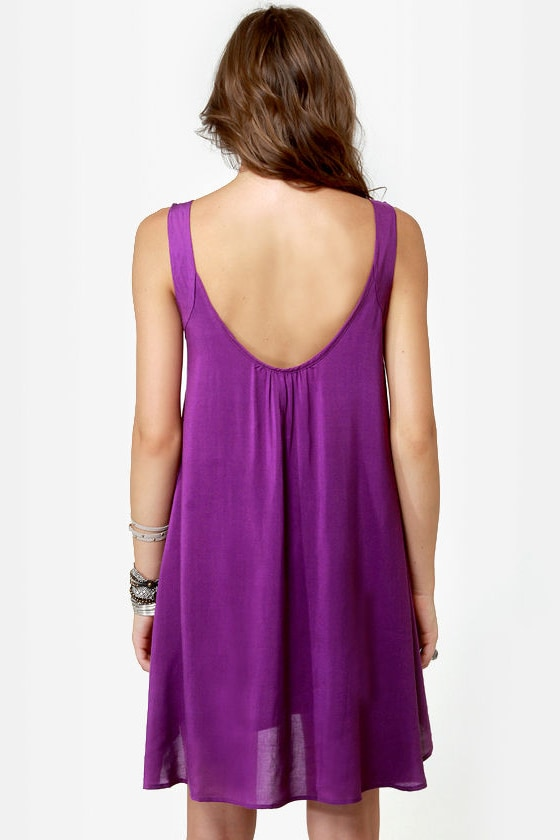 The Real Deal Purple Dress