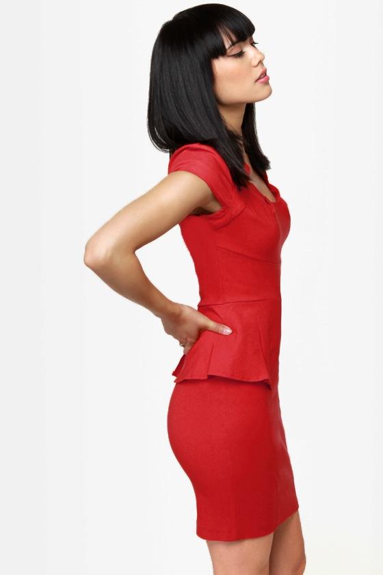 Hubba Hubba Red Dress