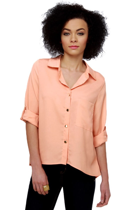Glam Fam Peach Top
