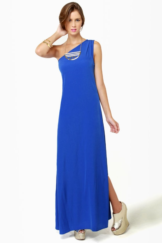 Temptress Blue Maxi Dress