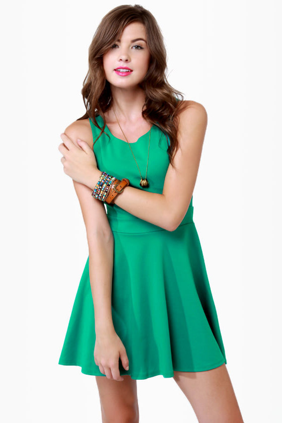 Call Me Baby Teal Dress