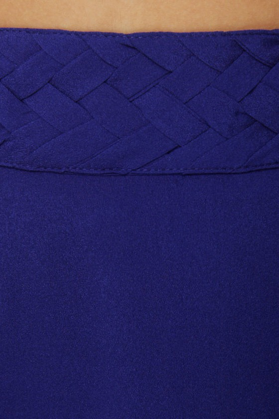 Raid the Braid Royal Blue Skirt