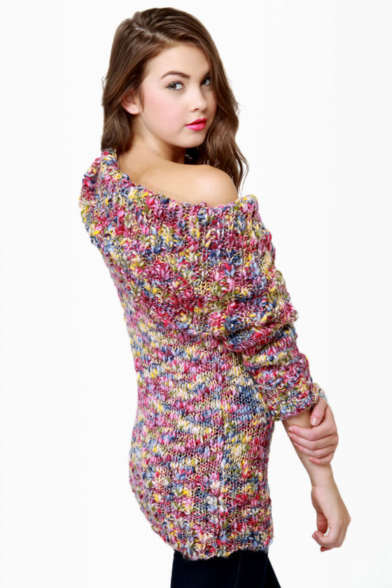 Confetti Collection Multi Knit Sweater