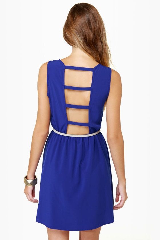 Bridge the Gap Royal Blue Dress