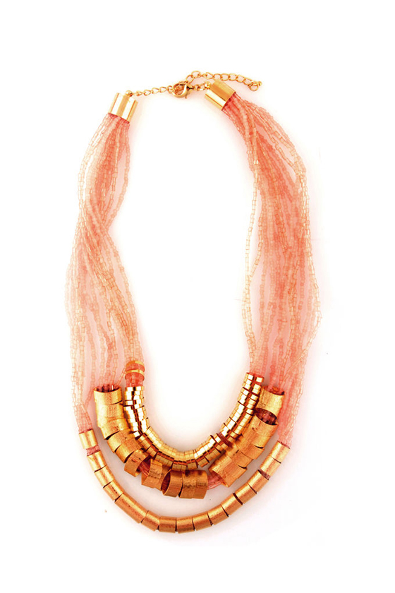 Full of Fortune Beaded Necklace