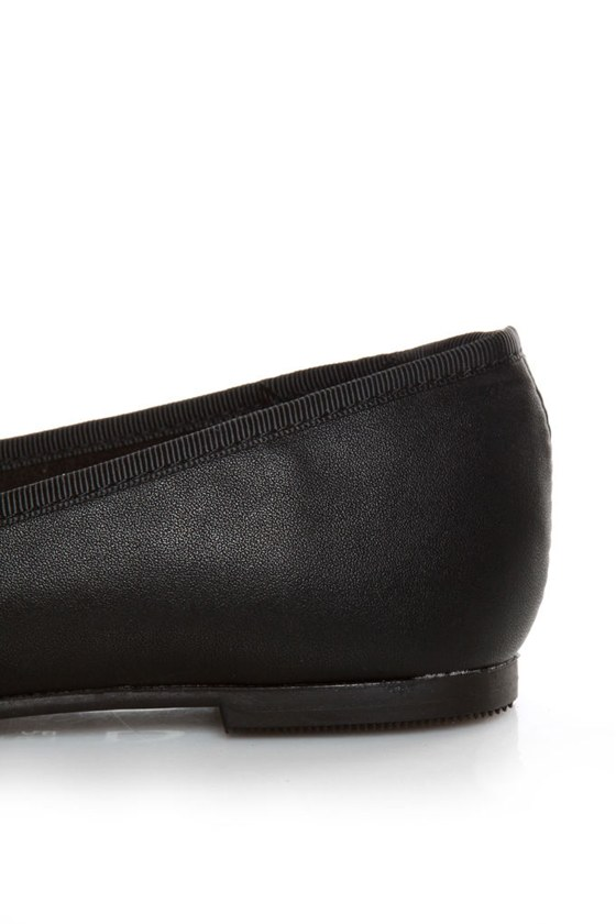 CL by Laundry Get Down Super Soft Black Ballet Flats at Lulus.com!
