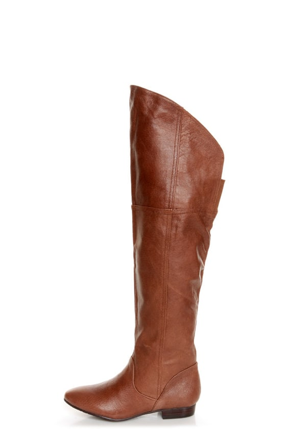 Chinese Laundry South Bay Henna Leather Over-The-Knee Boots