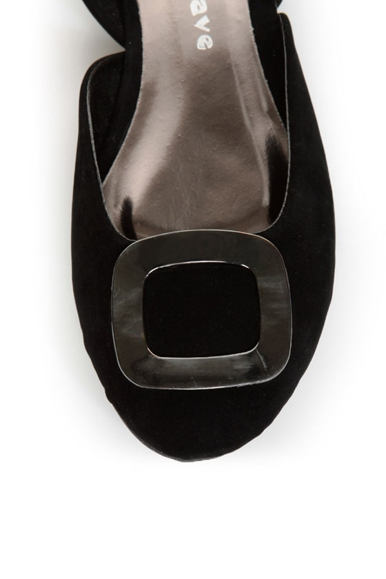 Kierra 2 Black Buckle D\\\\\\\'Orsay Flats