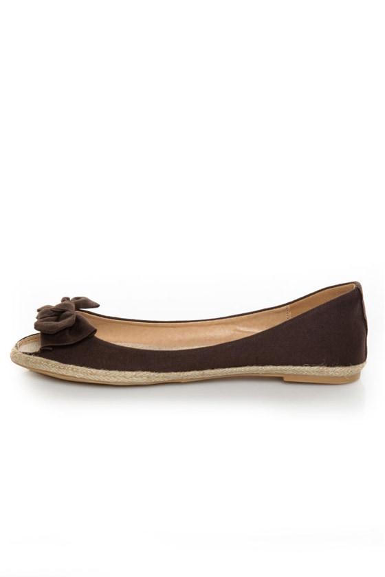 Mixx Shuz Sandra 01 Brown Bow Toe