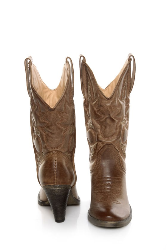 f15f99f61484 Very Volatile Denver Tan Embroidered Cowboy Boots -  78.00