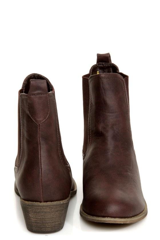 Yoki Chelsea 06 Brown Chelsea Boots
