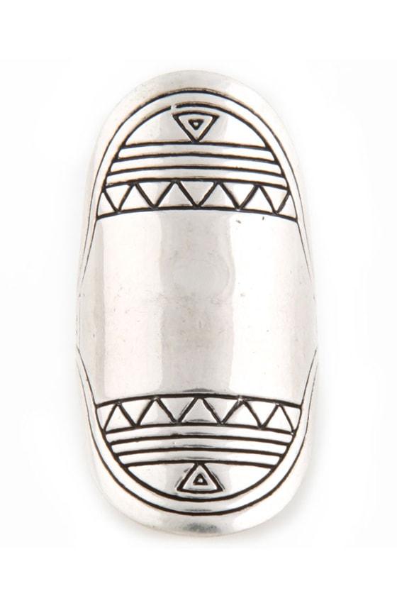 Montezuma's Reign Oval Ring