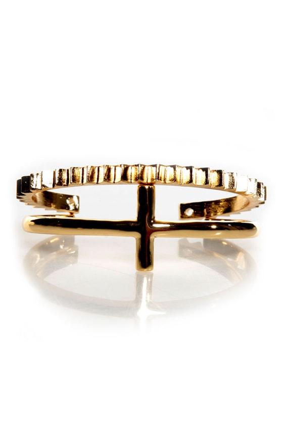 Geary Street Gold Bracelet Set at Lulus.com!