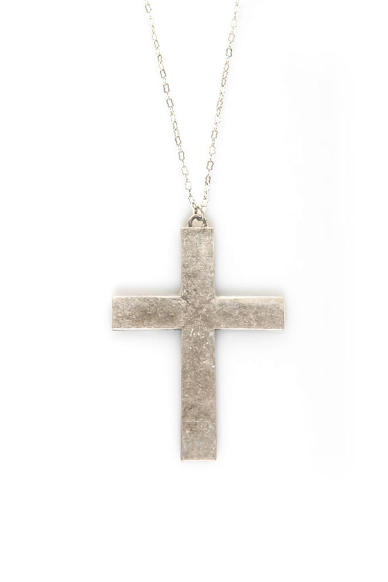Necessary Medieval Cross Necklace