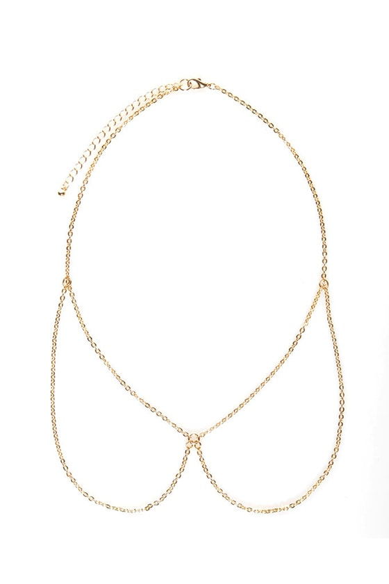 Phantom Collar Gold Chain Necklace