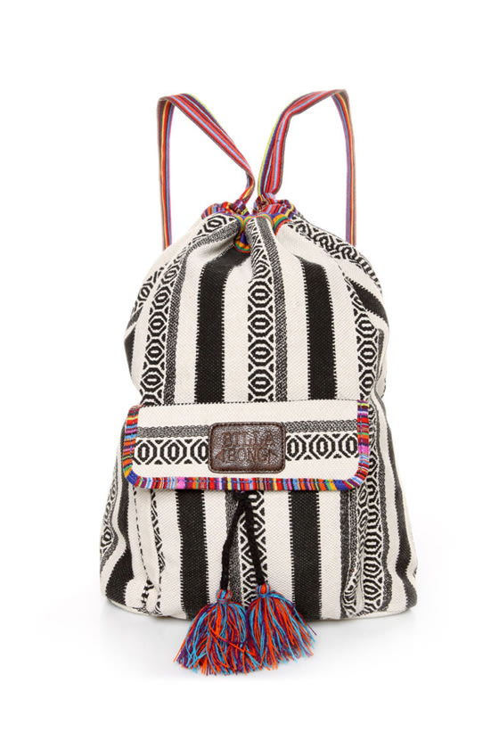Billabong Caravan Tribal Striped Backpack