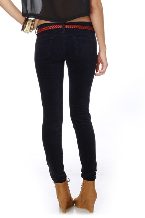 Shop for and buy navy blue skinny pants online at Macy's. Find navy blue skinny pants at Macy's.