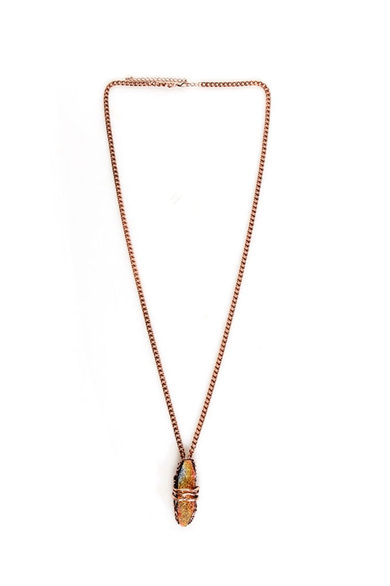 Northern Lights Copper Necklace at Lulus.com!
