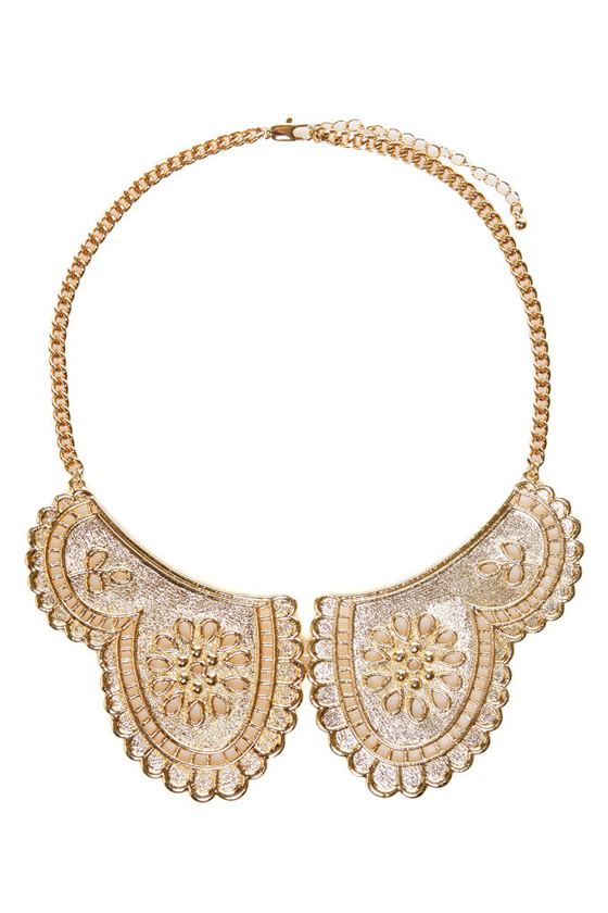 Little Darling Gold Collar Necklace