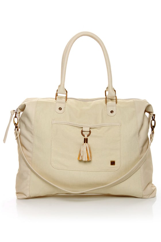 Element Berreta Canvas Ivory Tote