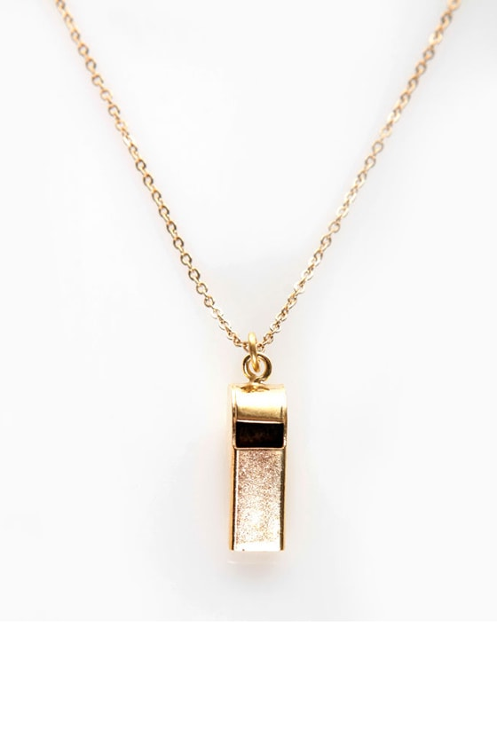 Quick Linking Gold Necklace at Lulus.com!
