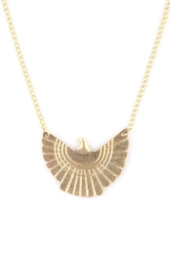 Firebird Gold Necklace