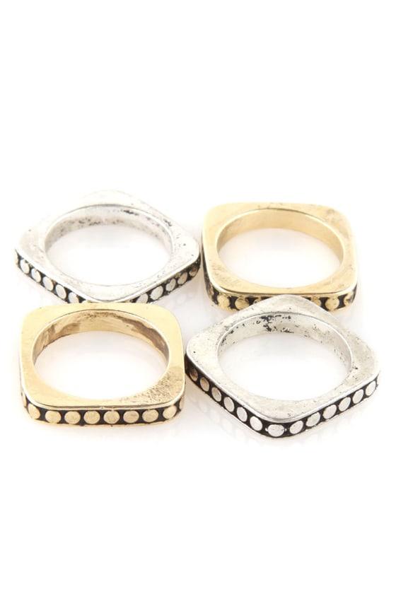 Square Play Ring Set