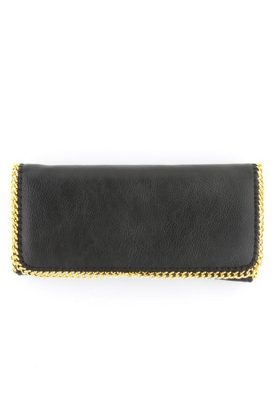 True New Yorker Black Wallet