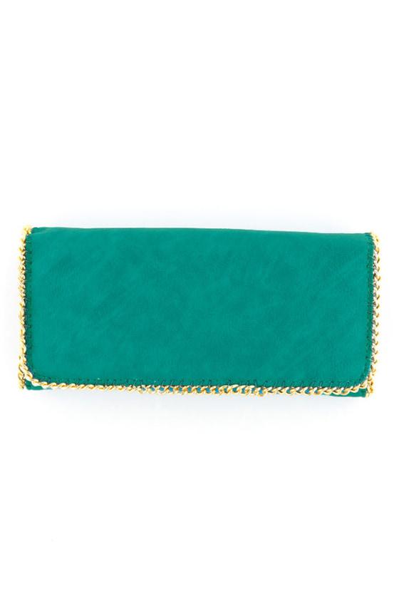 True New Yorker Turquoise Wallet