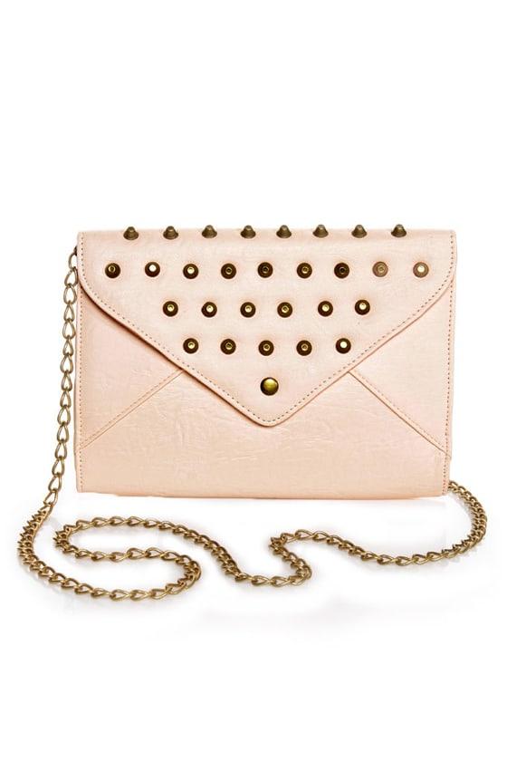 Cute Studded Clutch - Pink Clutch - $34.00