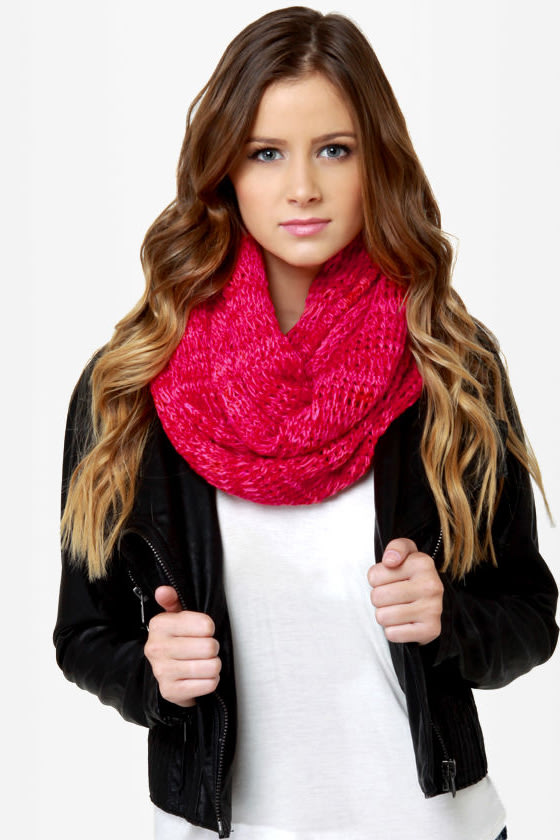 O'Neill Kylin Red Infinity Scarf at Lulus.com!