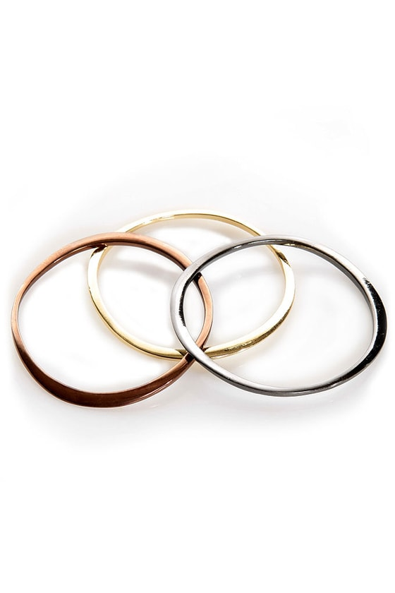 Urban Arm-er Multi Bronze Bangle Set