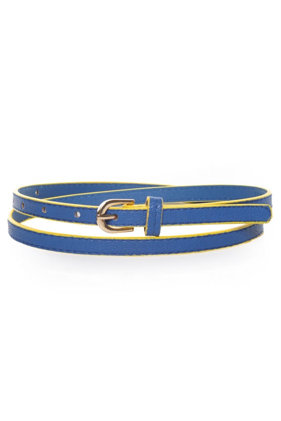 Brighten Up Yellow and Blue Belt