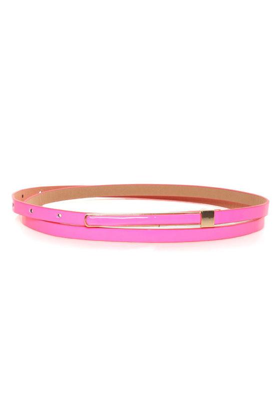 Getting Hotter Neon Pink Belt