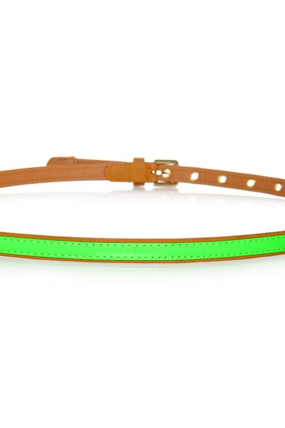 All-Bright-er Neon Skinny Belt