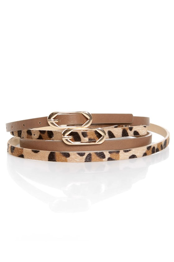 Twinsies Leather Double Belt at Lulus.com!