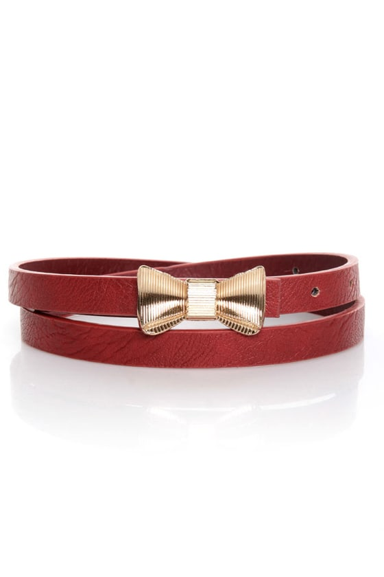 Rock the Bow-t Skinny Bow Belt