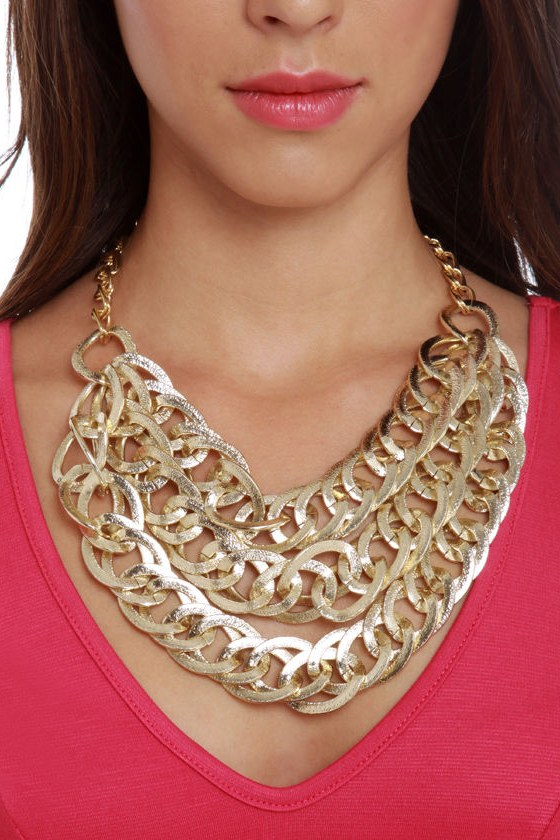 Golden Touch Gold Necklace