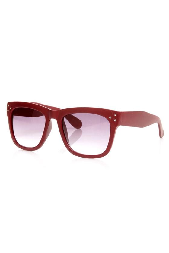 Off the Rack Matte Sunglasses