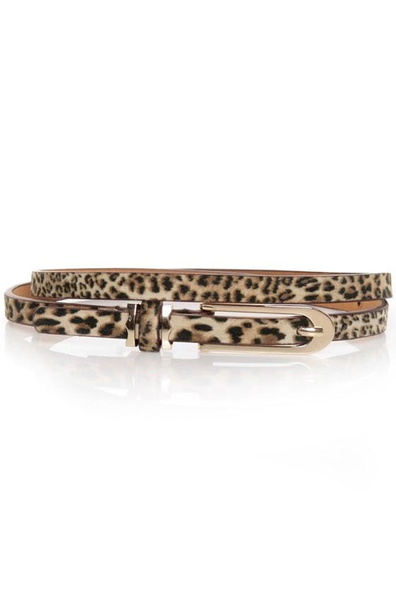 Silynna Leopard Print Belt