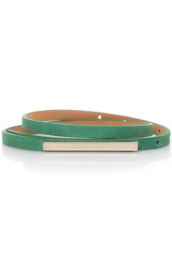 Skinny Mini Green Belt