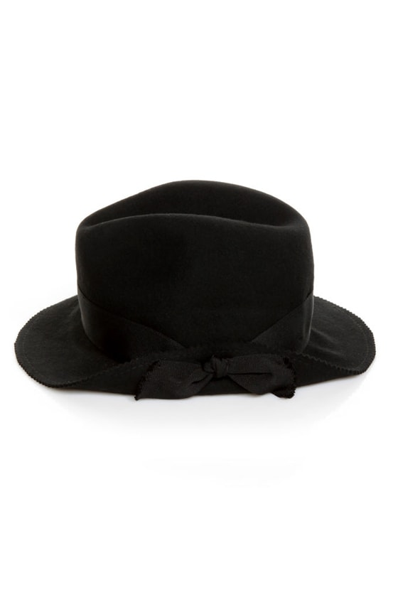 San Diego Hat Co. Idlewild Black Fedora