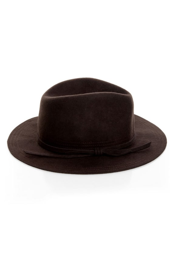 San Diego Hat Co. What a Dame Dark Brown Fedora 0111238d81d
