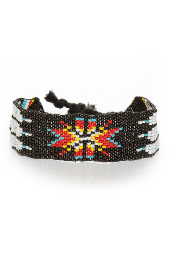 Hopi for the Best Beaded Friendship Bracelet