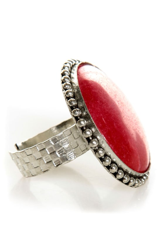 Roundoff Cocktail Ring at Lulus.com!